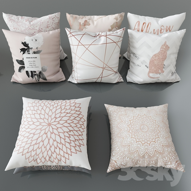 Set of decorative pillows No. 3