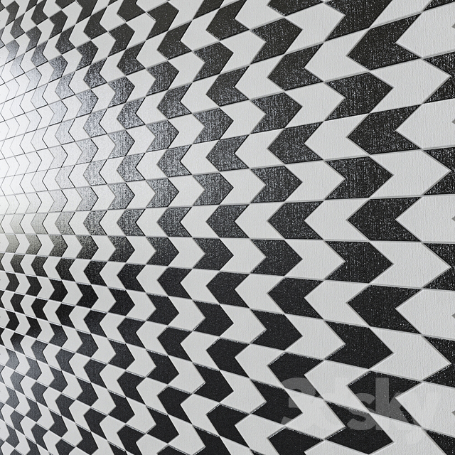 Porcelain tile Twt Freccia Moon / Dark