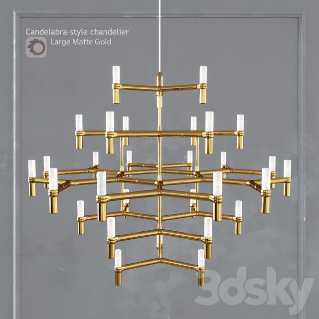 Chandelier EQUINOX CHANDELIER Large Gold
