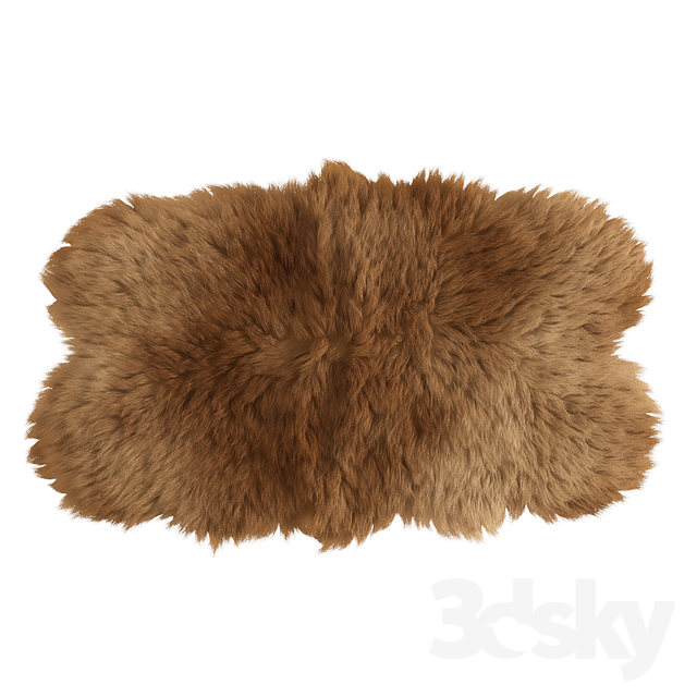 Forsyth sheepskin rug
