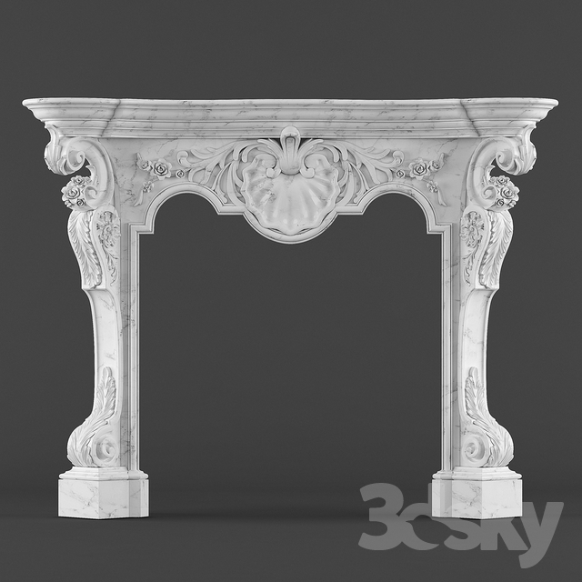 classical fireplace 2