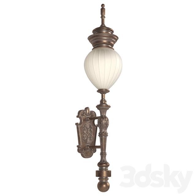 Classic Wall Street Light. Street Light