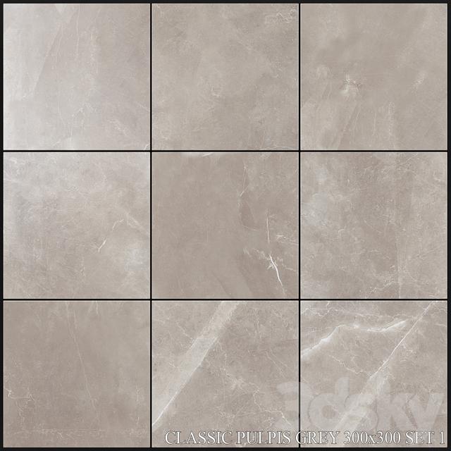 Yurtbay Seramik Classic Pulpis Gray 300x300 Set 1