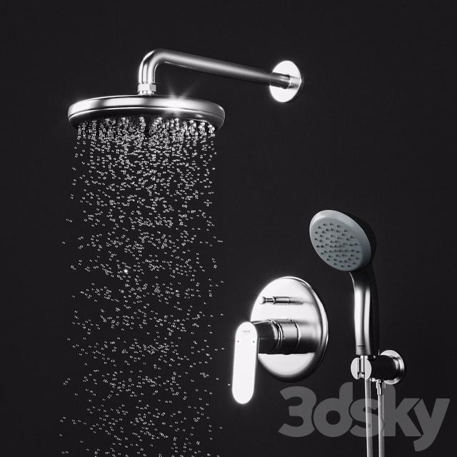 Grohe Eurosmart Cosmopolitan Shower Set