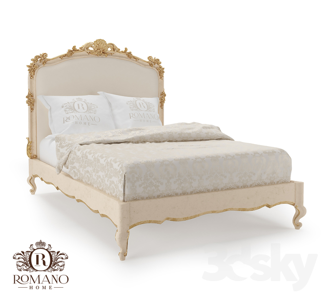 (OM) Bed Laura Mini Romano Home