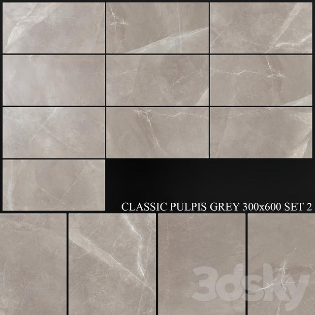 Yurtbay Seramik Classic Pulpis Gray 300x600 Set 2