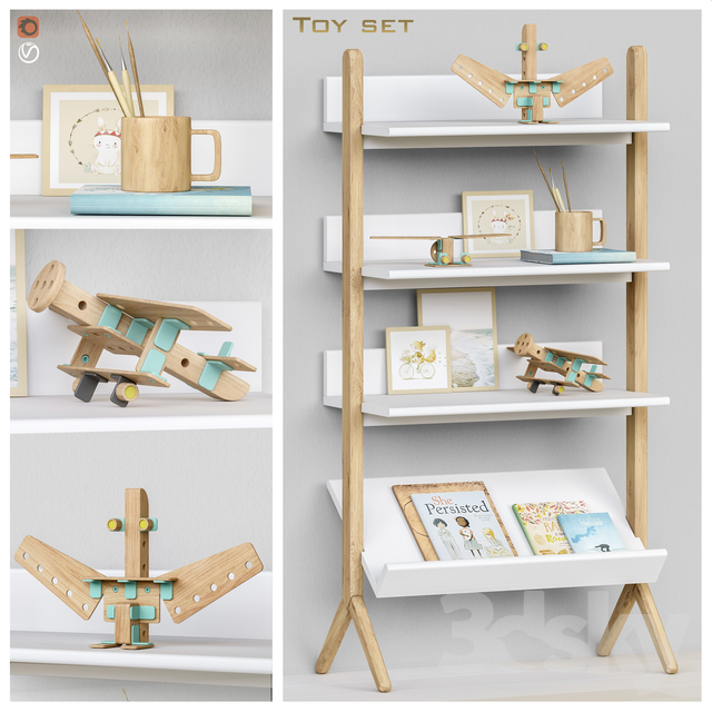 Toys and furniture set 60
