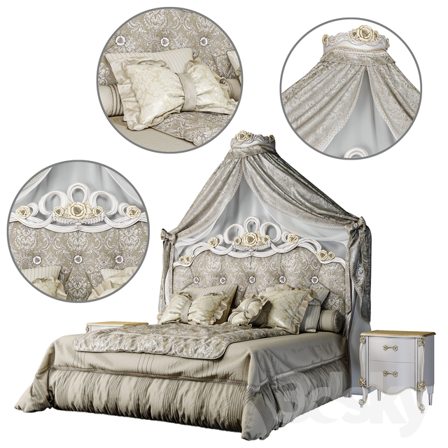 Double Bed ADELE from Volpi Factory