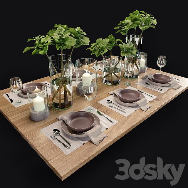 Table setting. Table setting