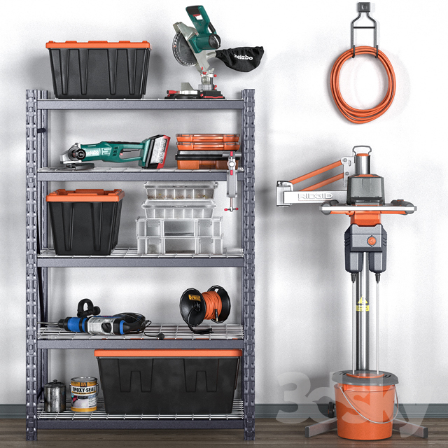 garage tools set 12