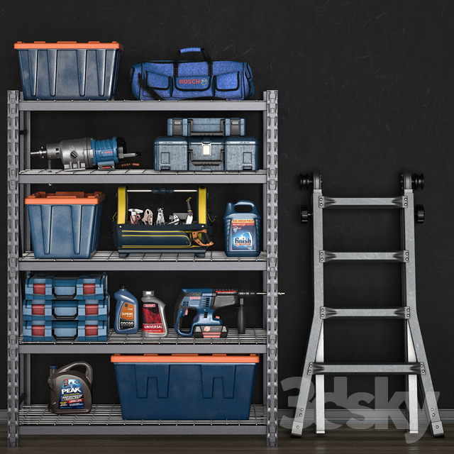 garage tools set 14