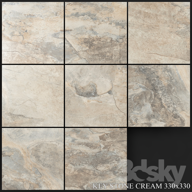 Yurtbay Seramik Key Stone Cream 330x330
