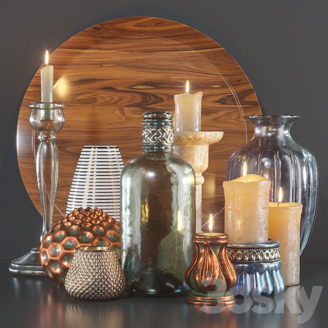 Decorative set decor set