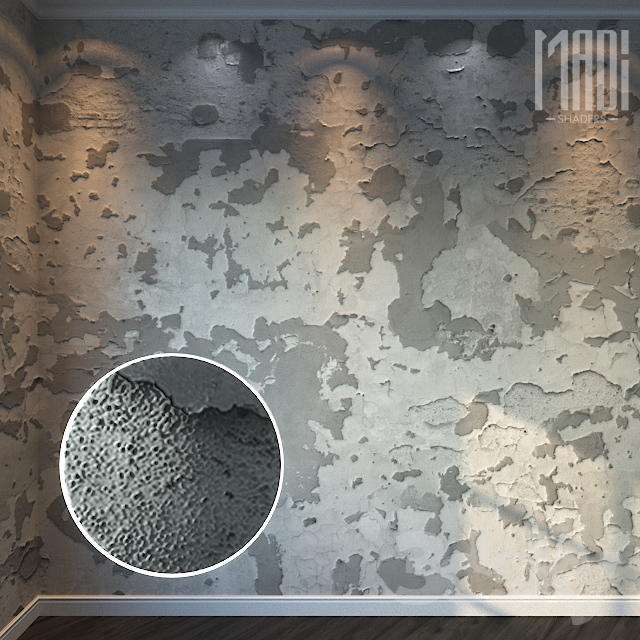 Decorative Plaster 071 - 8K Material