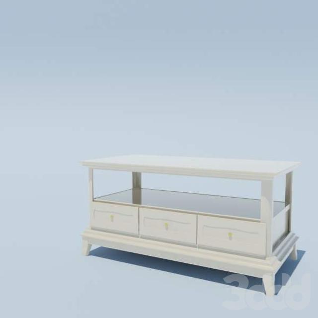столик под ТВ классический