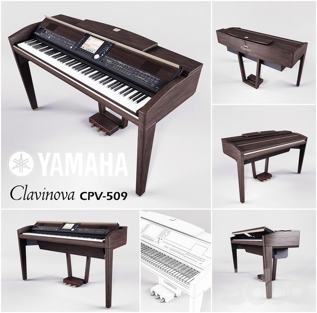 Yamaha Clavinova CPV-509