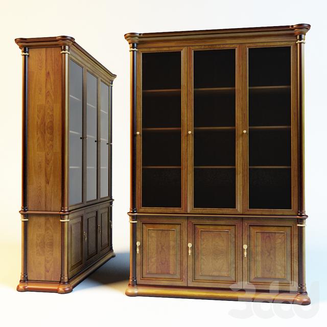 3d модели: шкафы - книжный шкаф.