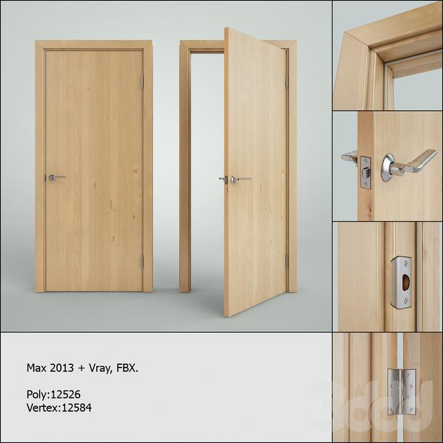 3d модели двери дверь стандартная