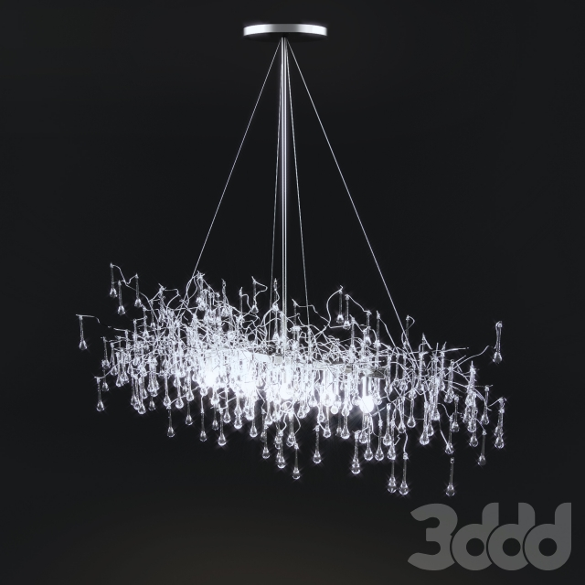 3d модели Люстры Lucinda Branch Chandelier