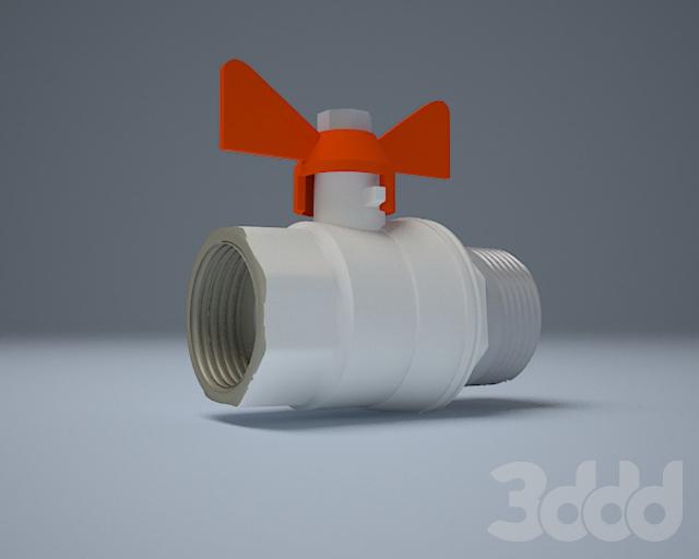 шаровые краны скачать 3d модель