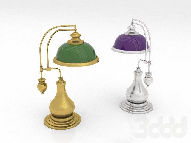 Настольная лампа 32х23х51см
