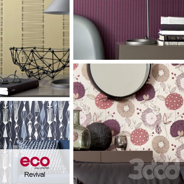 Обои ECO Wallpaper, коллекция Revival