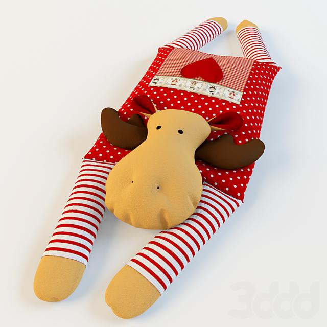 Подушки рождественский
