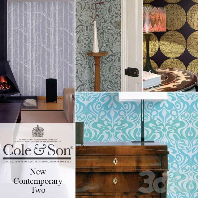 Обои Cole & Son, коллекция New contemporary two. Часть 1
