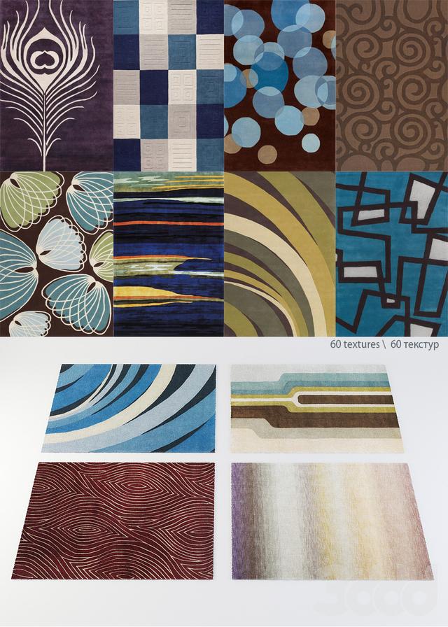 сборник дизайнерских ковров