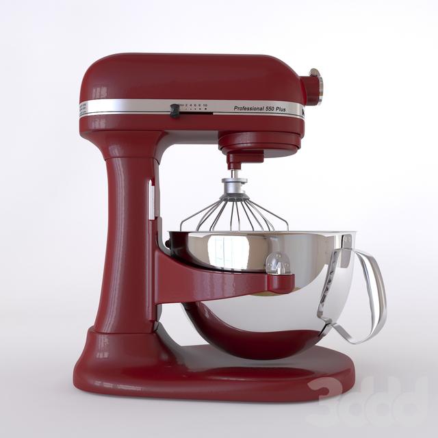 3d модели Техника Mixer Kitchenaid