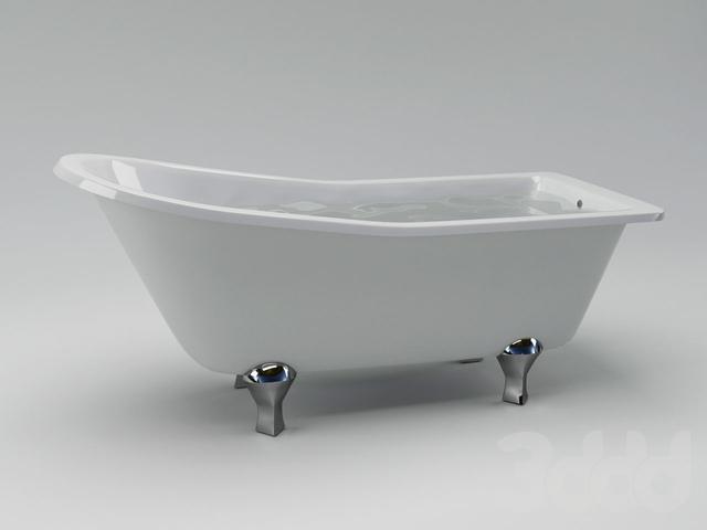 Ванна Burlington Harewood Slipper Bath E1