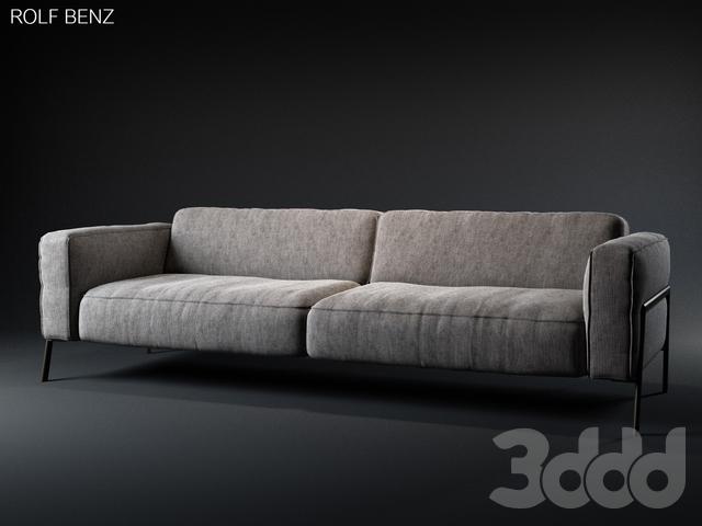 3d модели: Диваны - Rolf Benz - Bacio sofa