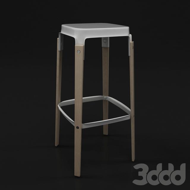 Magis steelwood stool