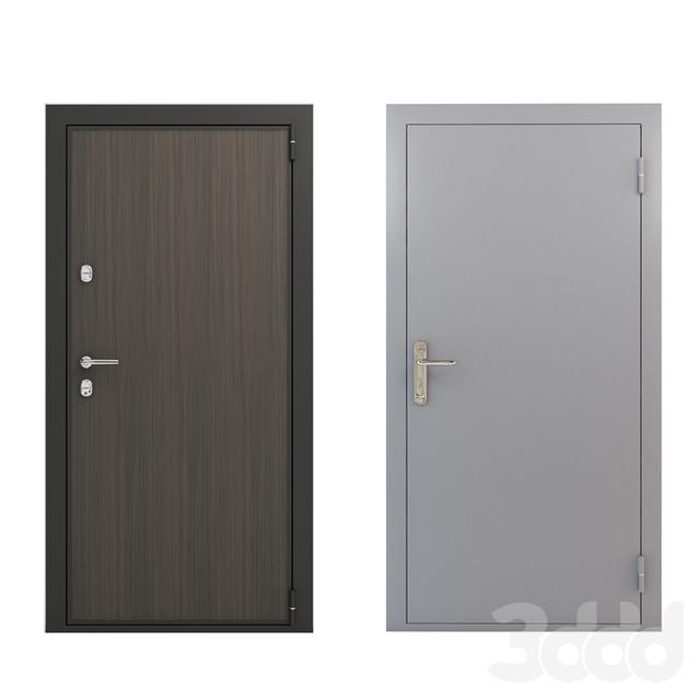 3d модели двери дверь входная декоративная