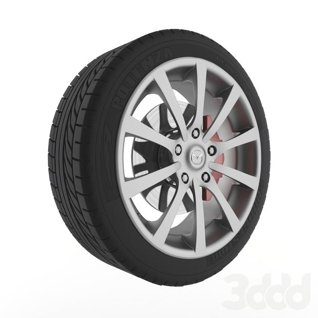 Mazda wheel