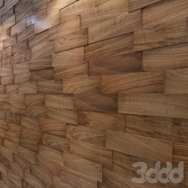 Стеновые 3D панели: натуральный ОРЕХ