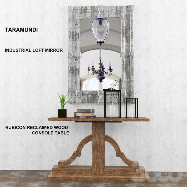Консоль и зеркало TARAMUNDI