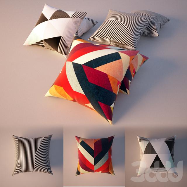 Паттерн Подушки ,Patterned Pillows