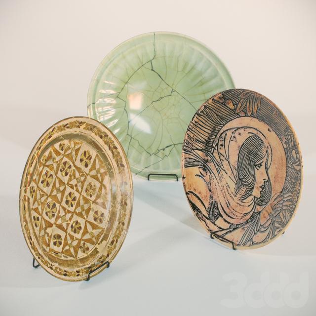 Крамические тарелки