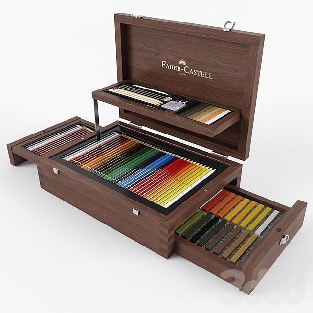 Карандаши и пастель Faber-Castell