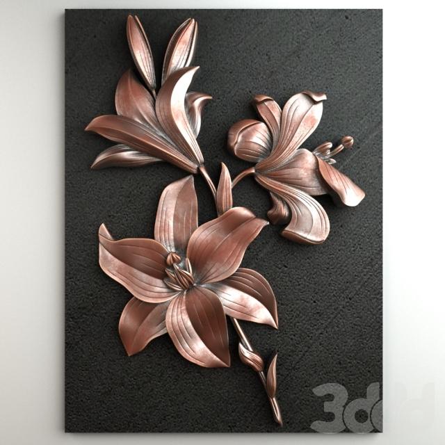 Royal Lilies 001