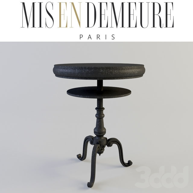 3d модели: Столы - Misendemeure Pedestal Table
