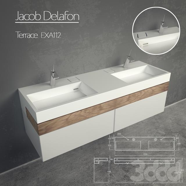 Jacob Delafon Terrace EXA112