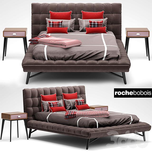 3d roche bobois lit bed profile. Black Bedroom Furniture Sets. Home Design Ideas
