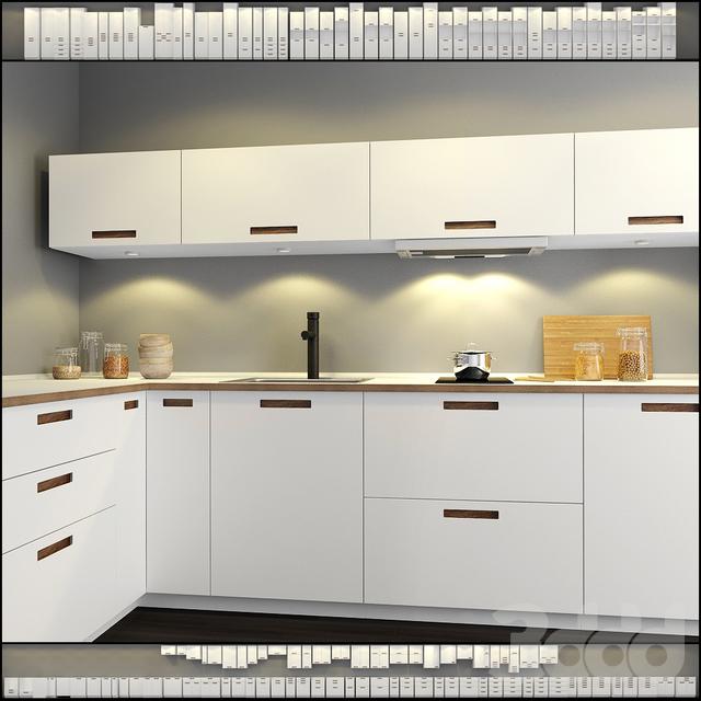 3d модели с известного сайта. Кухня | [Infoclub.PRO]