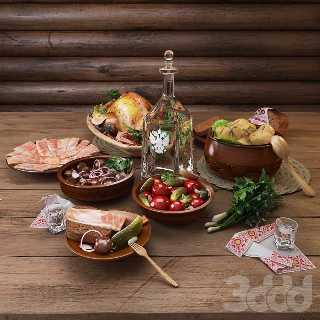 русская закуска фото