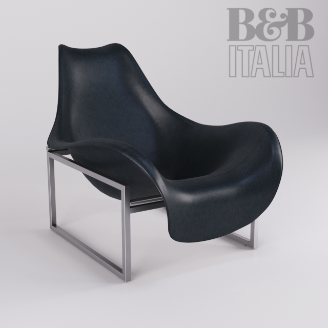 3d armchair b b italia mart. Black Bedroom Furniture Sets. Home Design Ideas
