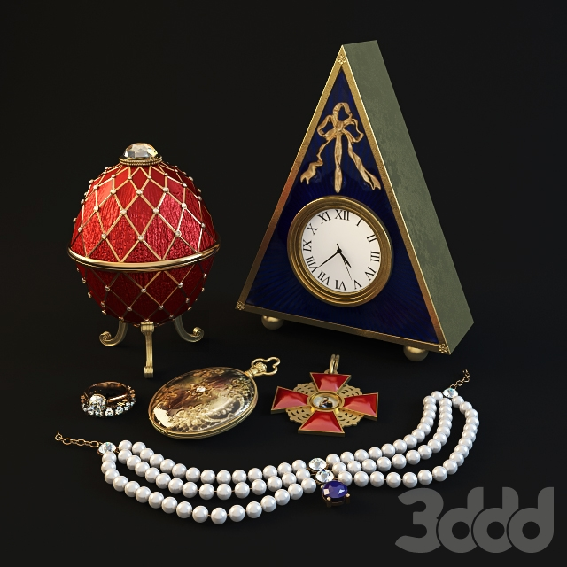 russian antique set