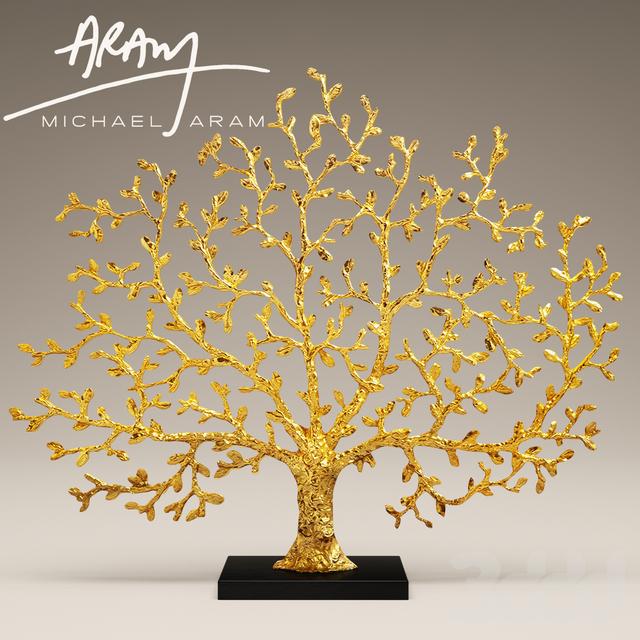 3d модели Другие предметы интерьера Michael Aram Tree