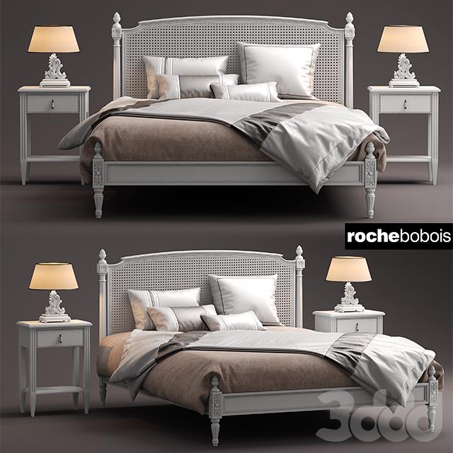 3d roche bobois lit josephine. Black Bedroom Furniture Sets. Home Design Ideas